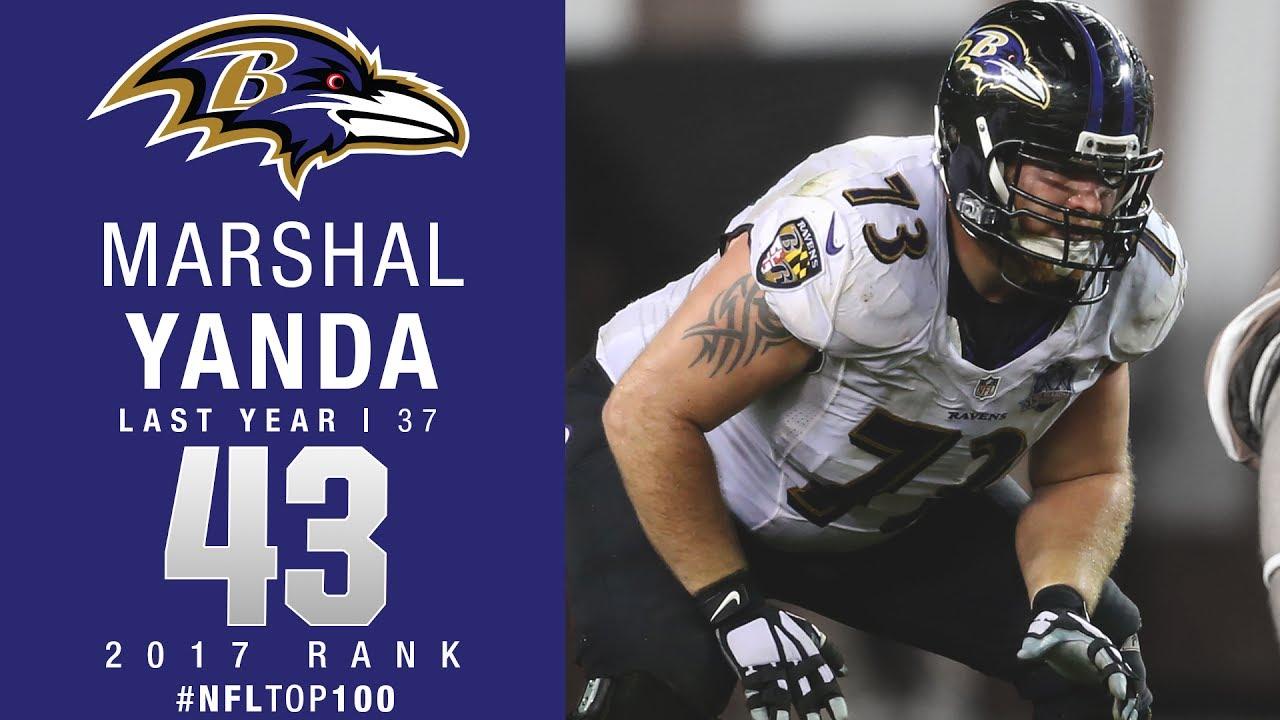 43 Marshal Yanda G Ravens Top 100 Players of 2017