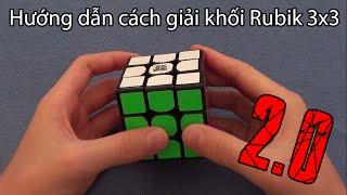 [TheCrystallized] Hướng dẫn cách giải khối Rubik 3x3 dành cho người mới chới 2.0! (450+ Subs!)