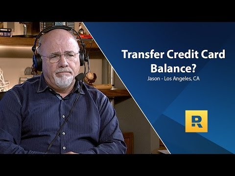 Should Transfer My Credit Card Balance To Interest Account