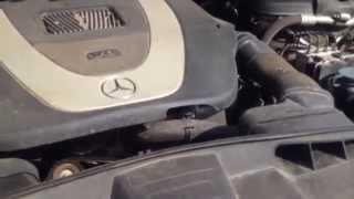 видео Двигатель 272 мерседес задиры