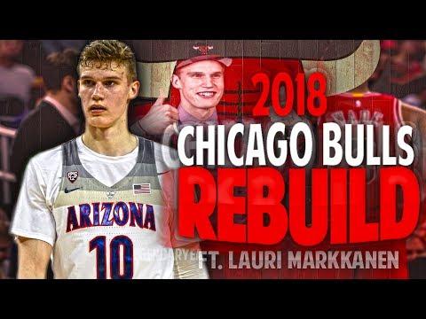 LAURI MARKKANEN BULLS REBUILD!! A NEW ERA IN CHICAGO?! NBA 2K17