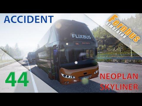 [Fernbus Simulator] Episode n°44 : Accident sur l'autoroute en Neoplan Skyliner !