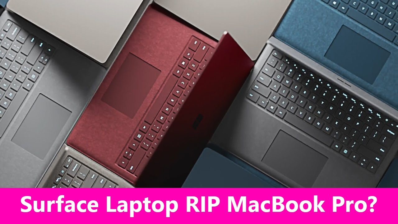 79ee03e648c Surface Laptop My thoughts Microsofts MacBook Pro, XPS 13 Killer ...