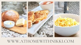 HOW TO MAKE THE PERFECT GRILLED CHEESE SANDWICH | LUNCH IDEAS