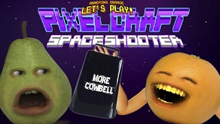 Annoying Orange Plays - Pixel Craft Space Shooter: MORE COWBELL!