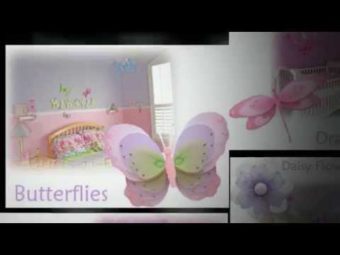 how to make hanging butterfly decorations