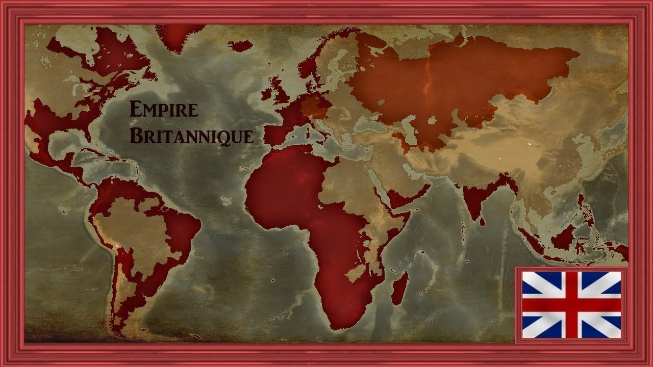 le soleil ne se couche jamais sur l 39 empire britannique timelapse eu4 youtube. Black Bedroom Furniture Sets. Home Design Ideas