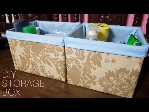 DIY | How to Make Storage Box Out of Cardboard