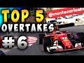 Racing Games | Top 5 Overtakes Of The Week ep6
