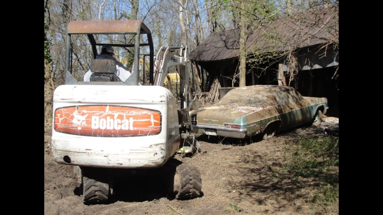 Barn find rescue 66 chevy bel air 2 dr after 35 yrs part 1 for Garage bel auto 38400