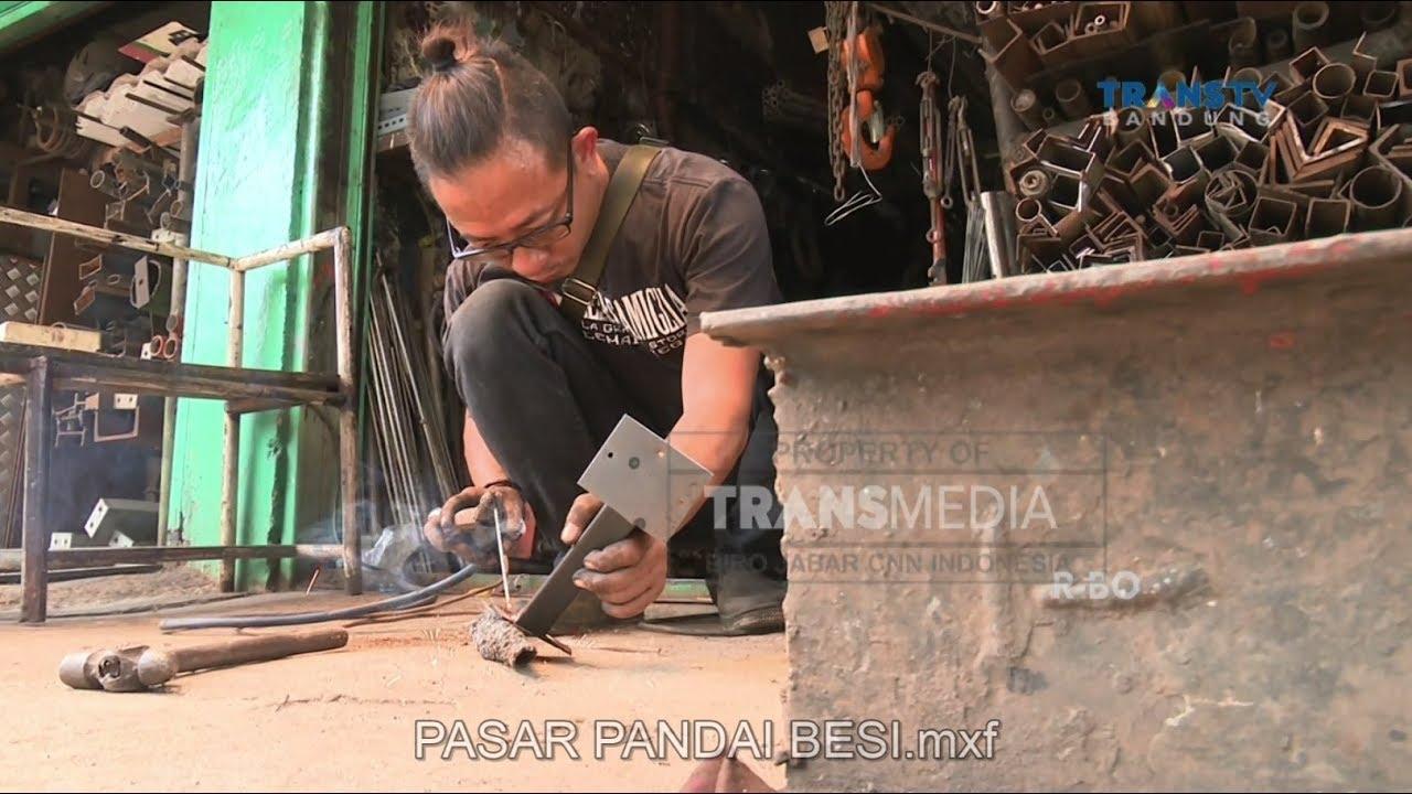 Pasar Gupeti Sentra Jual Beli Besi Di Kota Bandung Youtube