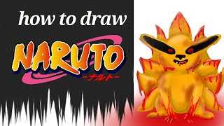 How to draw kyuubi videos / InfiniTube
