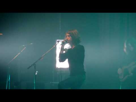 Alex Turner DRINKING BEER and POTION APPROACHING - CHEERS! Live Concert @ Milan