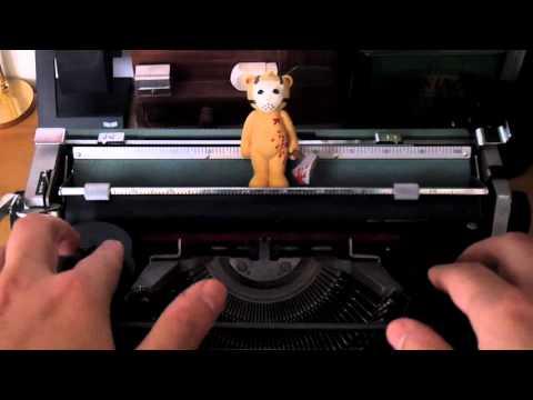 Tuto - Comment changer les rubans encreurs d'une machine à écrire
