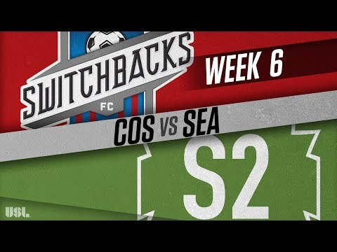Colorado Springs Switchbacks FC vs Seattle Sounders FC 2: April 21, 2018