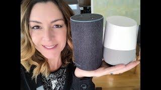 Google Home vs Amazon Echo - how to choose