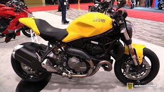 2018 Ducati Monster 821 - Walkaround - 2018 Toronto Motorcycle Show