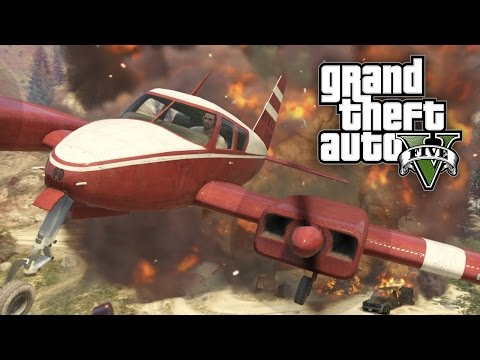 GTA V #14 - Sem Spoilers: Lindo Pouso de Avião!!! (GTA 5 em Português PT-BR) from YouTube · Duration:  32 minutes 57 seconds