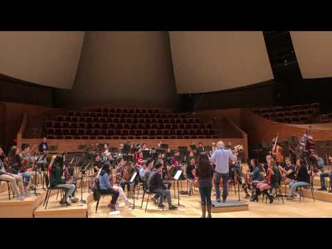 Stanford Music Department: Amanda's Orchestra Composition