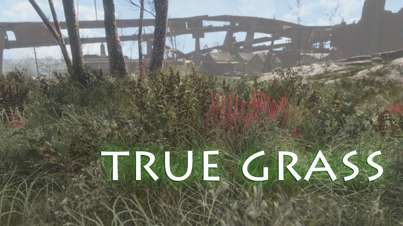 Fallout4 - True Grass