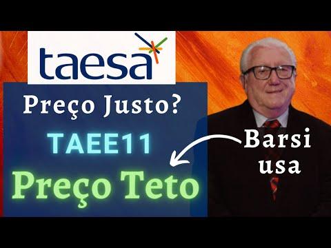 TAEE11 Taesa: Preço