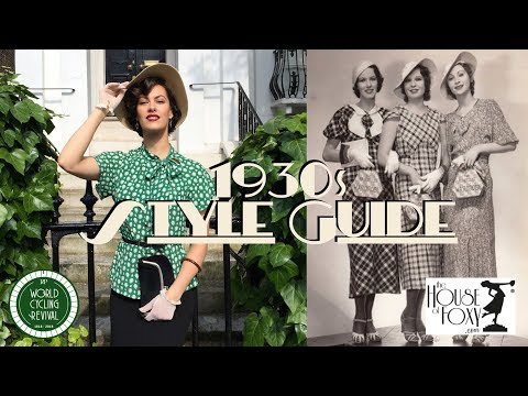 Vintage Style Guide (1930s Day Wear Look)⎟VINTAGE TIPS & TRICKS