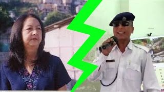 Lunglei Traffic Police nailed Lalsangzuali's song and voice!!