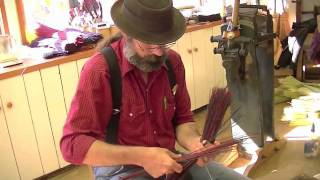 Making a Braided Rooster Tail style broom