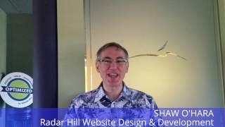 Shawn O'Hara Radar Hill Website Design & Development
