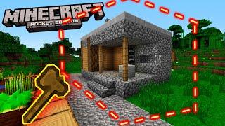 КАК КОПИРОВАТЬ Деревню жителей в Майнкрафт PE 1.9 / 1.10 Minecraft PE