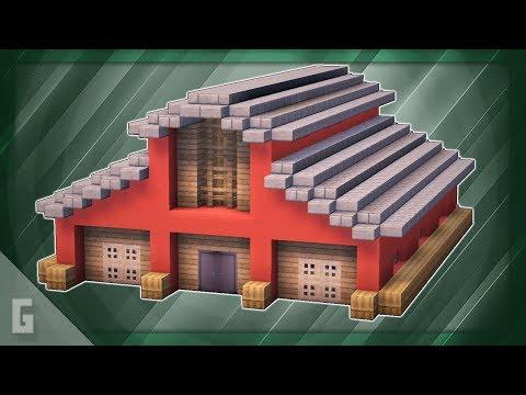 Awesome Minecraft BARN Tutorial!