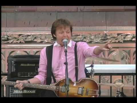 Paul McCartney Get Back - on Late Show...