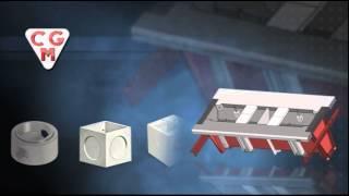 Формы для изделий из бетона(Оборудование и машины CGM способны производить самые разнообразные изделия: от колодцев до крышек люков,..., 2014-09-20T18:18:56.000Z)