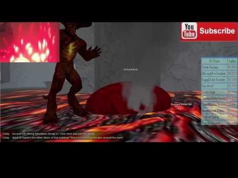VRMMORPG Second Life Mining RCE 2016 -  Display System Live Stream