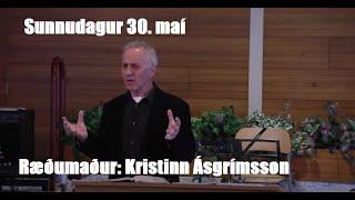 Ræðumaður: Kristinn Ásgrímsson.