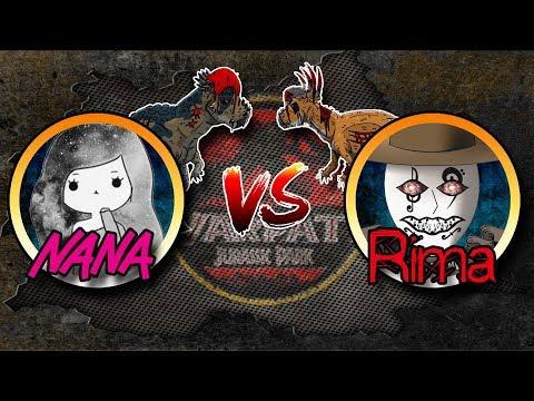 Warpath Jurassic Park - ESPECIAL Nana vs Rima #JurassicParkLuchitas