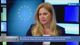Συνέντευξη με τον Μαργαρίτη Σχοινά και ρεπορτάζ για την Ευρωπ. Σύνοδο για το Προσφυγικό (22/06/2017)
