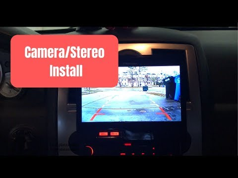 Chrysler 300C Reverse Camera/Aftermarket Stereo Install