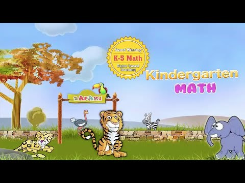 Kindergarten Math: Common Core State Standards Educational Game For Kids