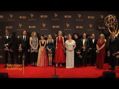 69th Emmys: Big Little Lies Press Room Interview