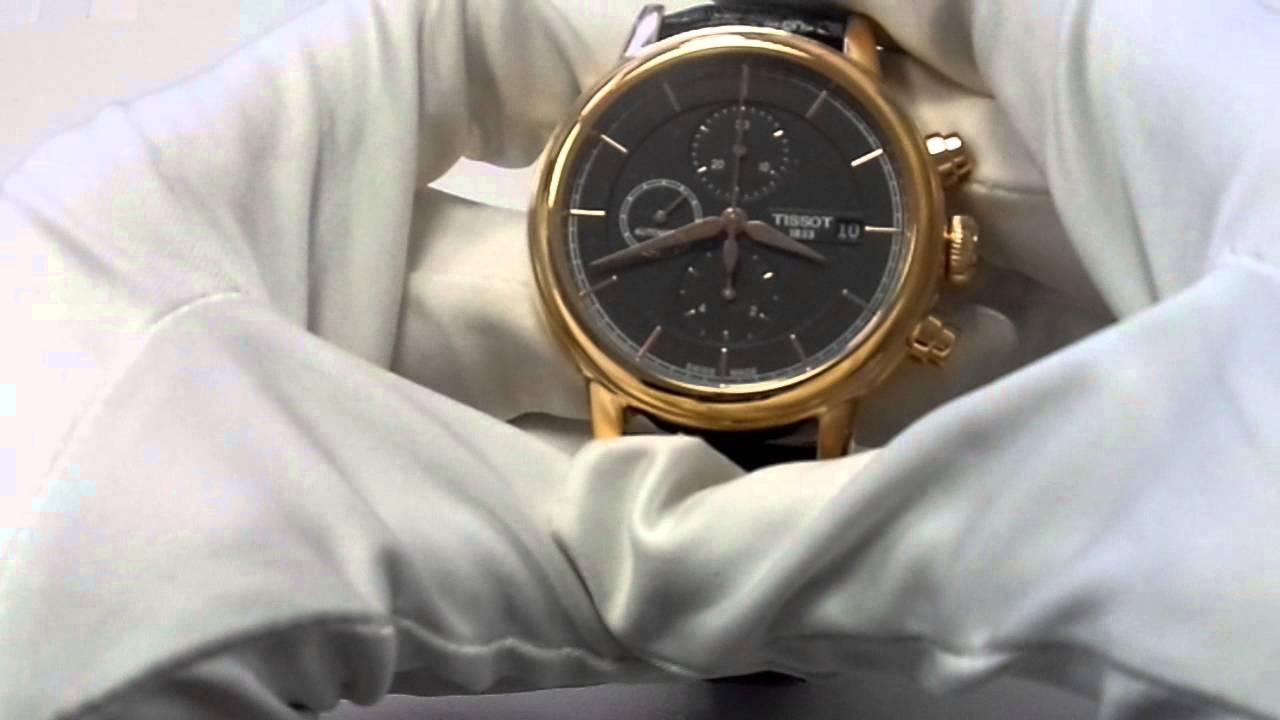 60086a5d6b8 Обзор часов Tissot Carson Automatic Chronograph - YouTube
