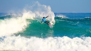 2016 Pantin Classic Galicia Pro Highlights: Big Moves Score on Second Day of Action