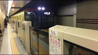 東京メトロ 銀座線 三越前駅 Tokyo Metro Ginza Line Mitsukoshimae Station (2018.9)