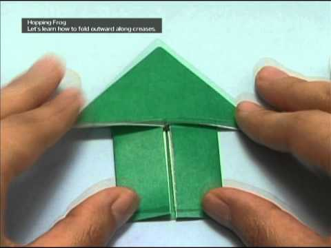 ハート 折り紙:折り紙 折り方 英語-youtube.com
