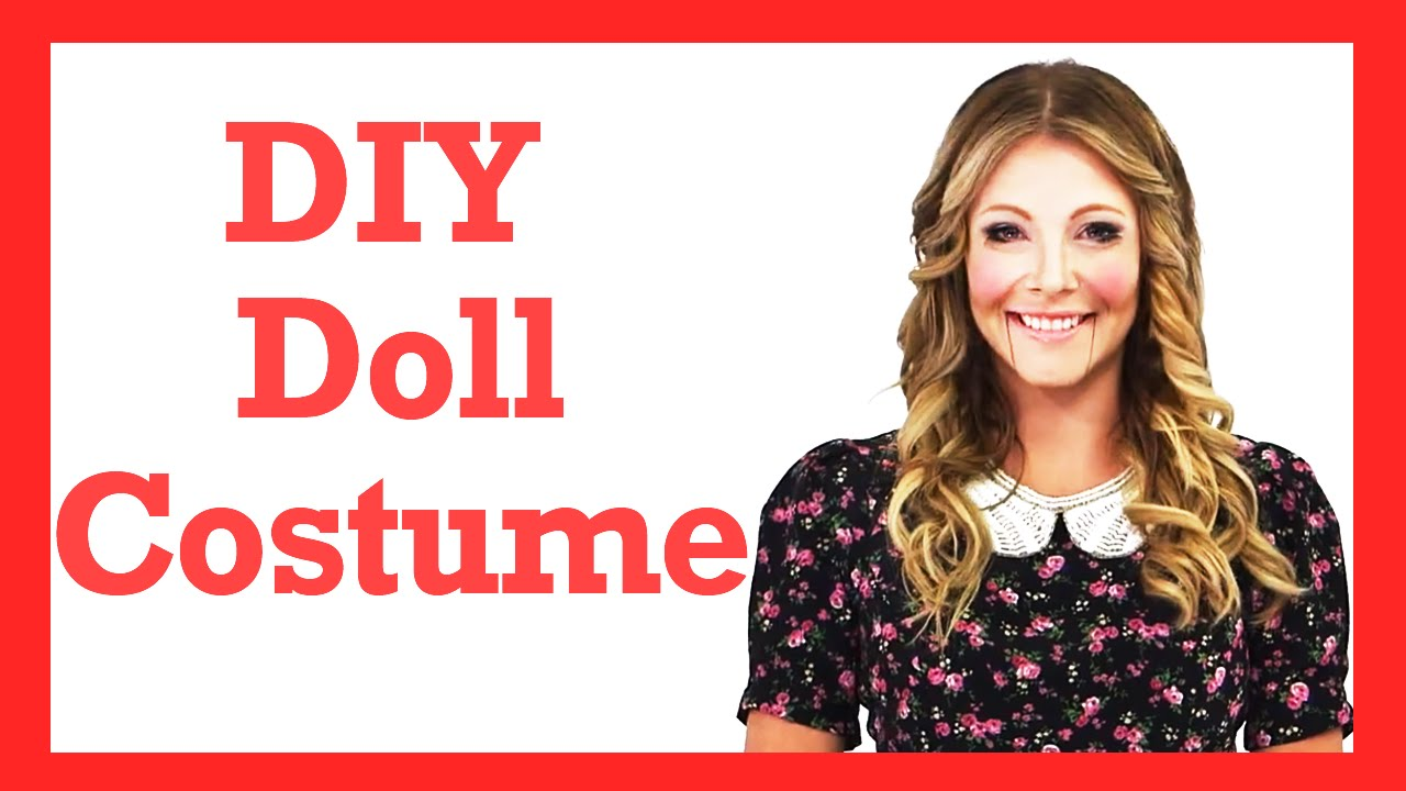 diy wind up doll halloween costume 17daily youtube