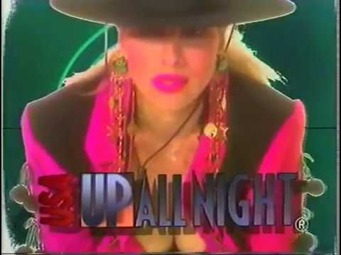 USA Up All Night 93 22 Rhonda Shear  Young Nurses in Love Party Camp