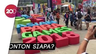 Ramainya Area GBK Jelang Penutupan Asian Para Games 2018