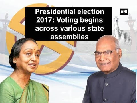 Presidential election 2017: Voting begins across various state assemblies - ANI News