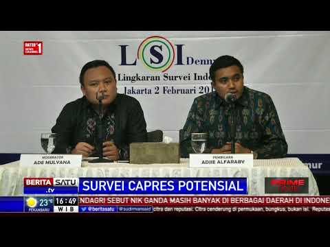 LSI Denny JA: Kepuasan Terhadap Jokowi Masih Tinggi