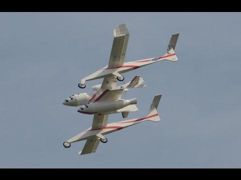 RC White Knight & Spaceship One
